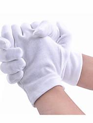 хлопок материалы белые хлопковые перчатки 10 пар продаже