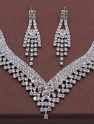 Fashion Popular New Style Rhinestone Necklace Set