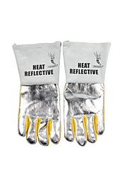 Anti Heat Reflecting Aluminum Welding Gloves  Size 10