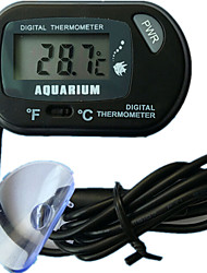 Aquarium Reptile Tank Aquarium Submersible Sucker Kennel Thermometer ST-3 TM-3
