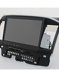 mitsubishi deus carro asa de 10,2 polegadas android máquina de tela grande wireless de navegação Bluetooth integrado
