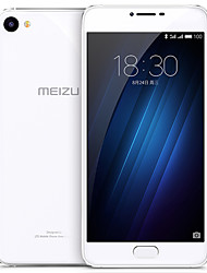 MEIZU U20 5.5 Rear Glass Flyme OS 4G Smartphone (Dual SIM Octa Core 13 MP 2GB  16 GB Silver)