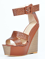 Women's Sandals Summer Wedges / Heels / Peep Toe / Platform / Sandals  Party & Evening / Dress / Casual Wedge Heel