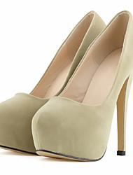 Women's Heels Spring / Fall Heels / Platform / Round Toe Fabric Wedding / Party & Evening / Dress Stiletto Heel