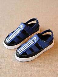 Unisex Sandals Microfibre Summer Casual Flat Heel White Black Blue Under 1in