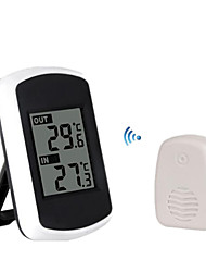 TS-FT004-B Wireless Electronic Thermometer Indoor and Outdoor Thermometer High-Precision Large-Screen Thermometer.