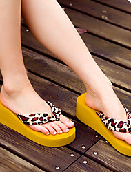 Women's Slippers & Flip-Flops Spring / Summer Comfort Rubber Casual Flat Heel Others Black Others