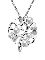 May Polly Europe and the United States fashion Heart Pendant Necklace