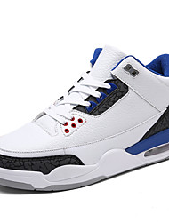 Men's Athletic Shoes Spring Fall Sport Flat Heel Lace-up Basketball