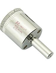Rewin trous de verre en acier allié outil élargisseur 2pcs taille 28mm / boîte