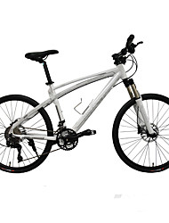 Mountain Bike Cycling 30 Speed 26 Inch/700CC 50mm Men's 30 Oil Disc Brake Suspension Fork Aluminium Alloy Frame
