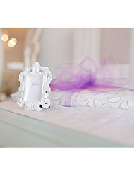 Wedding Dcor- 1pcs White Baroque Elegant Photo Frame Place Card Holder Beter Gifts Party Dcor