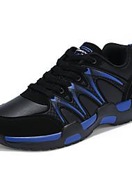 Femme-Extérieure / Sport / Décontracté-Bleu / Rouge / Blanc-Talon Bas-Confort-Sneakers-Tulle