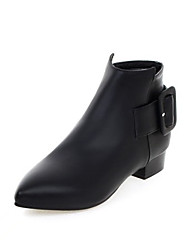 Women's Boots Fall / Winter Riding Boots / Fashion Boots  / Basic Pump / Comfort / Combat Boots / FlatsPatent Leather /
