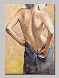 Handgemalte Menschen / Aktmalerei / Abstrakte Porträt Ölgemälde,Modern Ein Panel Leinwand Hang-Ölgemälde For Haus Dekoration