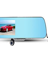 ling degrés hs900a rétroviseur voiture enregistreur avec l'image chien électronique 1080p HD à double lentille d'inversion
