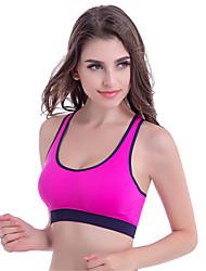 Sportif®Yoga Soutien-gorge / Sous-vêtement / Hauts/Tops Respirable / La peau 3 densités / Lisse Haute élasticité Vêtements de sportYoga /