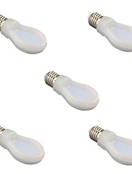5pcs 9W E27 2700K/6500K Flat Shap Light Led Globe Bulb Lamps(AC85-265V)