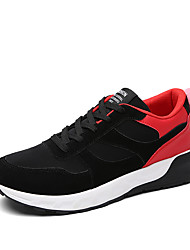 Men's Sneakers Fall / Winter Comfort Tulle Outdoor / Athletic / Lace-up Blue / Gray / Black and RedWalking / Running /