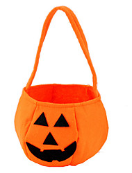 Halloween Pumpkin Bag Halloween Props Decoration Kids Biscuit Candy Box Handheld Bags Pouch
