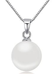 Colliers Tendance Pendentif de collier Bijoux Soirée A la Mode Argent sterling Argent 1pc Cadeau