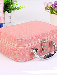Women Crocodile Casual Cosmetic Bag