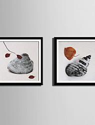 Пейзаж Холст в раме / Набор в раме Wall Art,ПВХ Черный Коврик входит в комплект с рамкой Wall Art