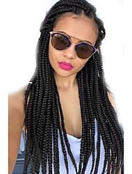 Box Tranças / Crochê Tranças torção Extensões de cabelo 24Inch Kanikalon 12 costa 90g grama Tranças de cabelo
