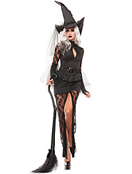 Costumes More Costumes Halloween Black Solid Terylene Dress / More Accessories