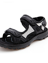 Boy's Sandals Summer Leather Casual Platform Others Black White Others