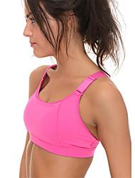 Sportif®Yoga Soutien-Gorges de Sport Sous-vêtement Hauts/Tops Respirable Sans couture Lisse La peau 3 densités Haute élasticitéVêtements