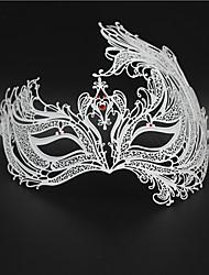 Women's Venetian Phoenix Inspired Laser Cut Masquerade Mask5005C2