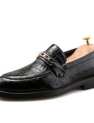 Hombre Zapatos Semicuero Primavera Verano Otoño Invierno Formal Zapatos formales Oxfords Paseo Con Cordón Para Boda Fiesta Ocasión
