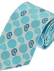 Wedding Party Business Men Neck Tie Polyester Silk