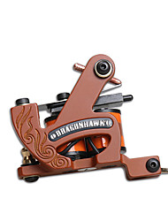 New Arrivals 10 Wraps Coil Tattoo Machine Cast Iron Shader Coloring Machine