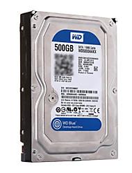 wd / Western Digital Festplatte 3,5 Zoll wd5000aakx Desktop-Schnittstelle SATA3 zufällige Farbe
