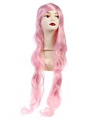 90cm Long Women Sexy Pink Party Wig Curly Fashion Hair Wigs Lolita Full Wigs