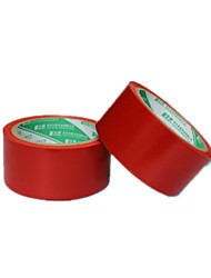Two Pvc4.8 Red Floor Warning Line Tapes Per Pack