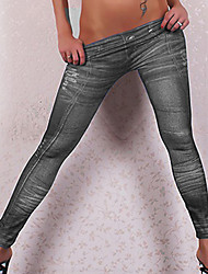 Women Denim LeggingCotton