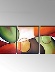Hand-Painted Abstract Canvas Oil Painting Wall Art For Home Office Decoration Ready to Hang