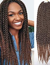 La Havane boîtes Tresses Crochet Twist cubique Tresses Twist Extensions de cheveux Kanekalon Cheveux Tressée