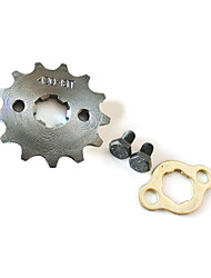 420-17MM-13T Teeth Motorcycle Pit Dirt Bike ATV Sprocket Set #420 Chain