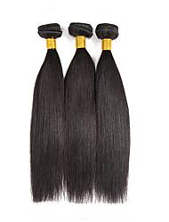 Cheap 14-18inch Virgin Hair 3 Bundles 150g Unprocessed Brazilian Straight 100% Human Hair