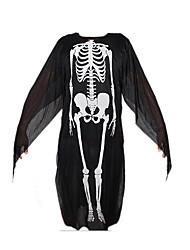 Pour Halloween Vampire Halloween Noir Motif Animal Tissu non tissé Collant/Combinaison
