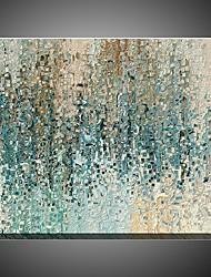 Handamde Textured Oil Paintings Light Blue Color Home Decor Modern Home Decor