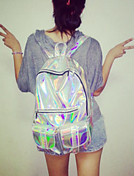 Unisex PVC Casual School Bag