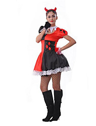 Women's Circus Troupe Clown Cosplay Halloween Costume