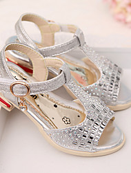 Fall Comfort Customized Materials Outdoor / Dress Flat Heel Others Pink / Silver / Gold Walking