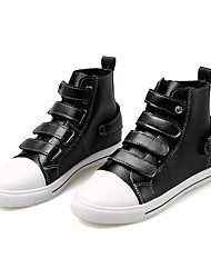 Women's Shoes Casual/Party/Student for Sports And Leisure Fashion Buckle Microfiber Medium cut Board Shoes