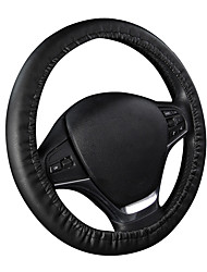 AUTOYOUTH  Punch PU Steering Wheel Cover Universal Fit 14-15 inch Steering Wheel Interior Accessories Steering Covers